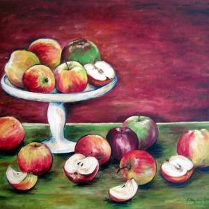 Jablka | 70x60cm