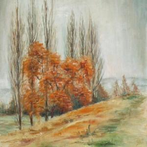 Podzim v Hradešíně | 45x60cm