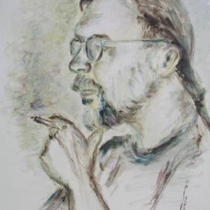 Učitel Perič | 45x60cm