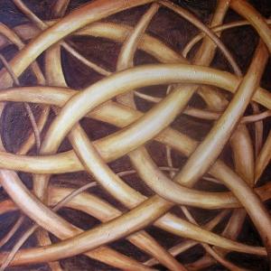 Kořeny | 100x85cm