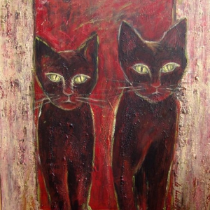 Prostě kočky | 55x80cm