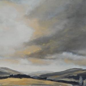 Orlické hory | 65x55, akryl, plátno