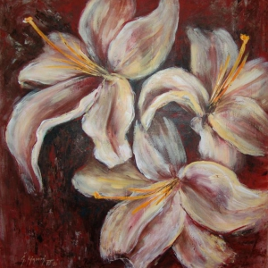 Lilie 2 | 95x100, akryl