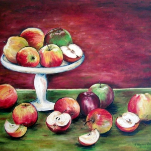 Jablka | 70×60cm