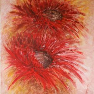 Květiny | 95x105cm