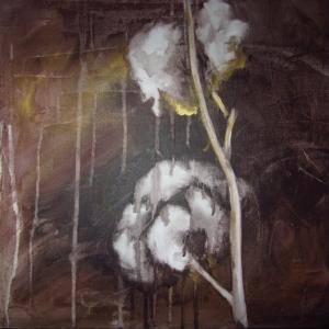 Bavlna | 30x30, akryl, plátno